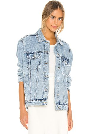 ANINE BING Rory Denim Jacket in . Size L (also in XS, S, M).
