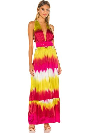 Lovers + Friends Lauren Maxi Dress in - Fuchsia. Size L (also in XXS, XS, S, M, XL).