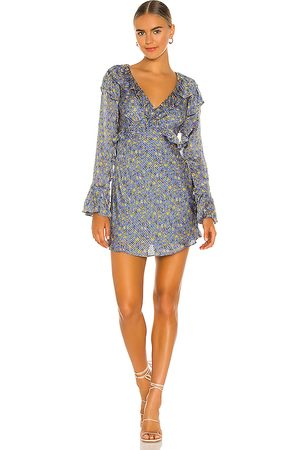 Free People Sweetest Thing Mini in - Blue. Size 0 (also in 2, 4, 6, 8, 10, 12).