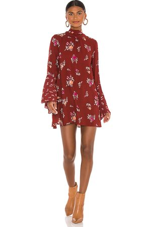 Free People Tate Tunic in - Brick. Size L (also in XS, S, M).