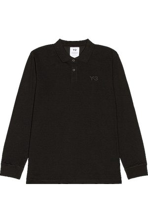 Y-3 Pique Long Sleeve Polo in - . Size M (also in S).