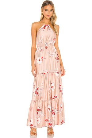 Camila Coelho Pedro Maxi Dress in - Pink. Size L (also in XS, S, M, XL).