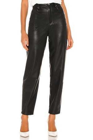 WeWoreWhat Dani Vegan Leather Boyfriend Pant in - . Size 24 (also in 25, 26, 29).