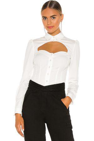 FLEUR DU MAL Bella Shirt in - . Size 0 (also in 10, 2, 4, 6, 8).