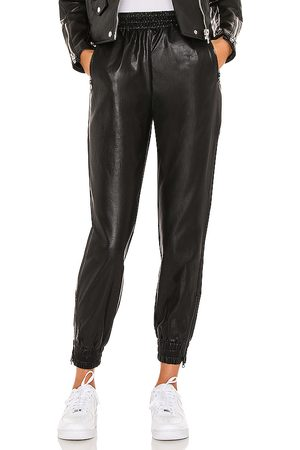 superdown Rinah Leather Jogger Pant in - . Size L (also in M, XL).