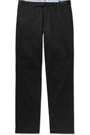 Polo Ralph Lauren Homem Calças Justas - Slim-Fit Stretch-Cotton Twill Chinos
