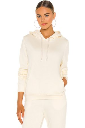 Vitamin A Emery Hoodie in - White. Size L (also in XS, S, M).