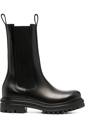 Scarosso Chunky rubber-sole boots