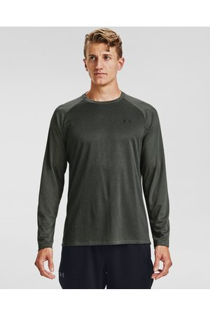 Under Armour Textured Long T-shirt Grey