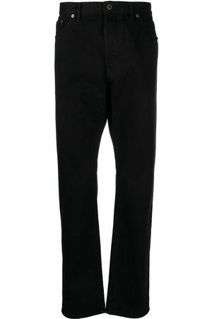 VALENTINO Logo-patch denim jeans