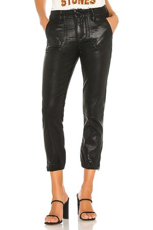 Paige Mayslie Jogger in - Black. Size 23 (also in 24, 25, 26, 27, 28, 29, 30).
