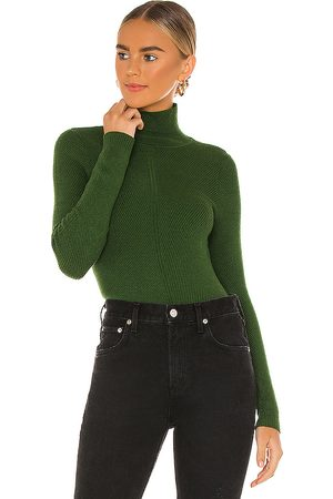 House of Harlow X REVOLVE Peyton Turtleneck Sweater in - Dark Green. Size M (also in XL).