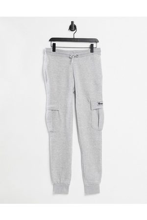 Bench Logo utility joggers co-ord in grey