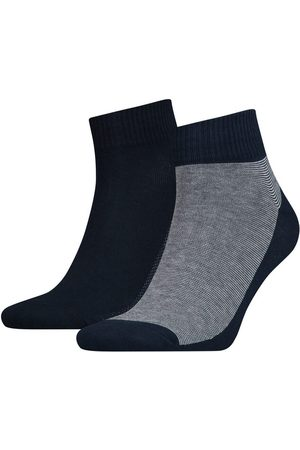 Levi's Pack de meias levi's® médias unissexo com riscas finas Levi's