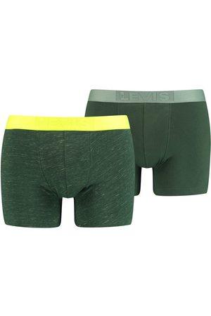 Levi's Pack de 2 boxers levi's® de malha flamejada e fluorescente Levi's