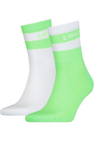 Levi's Pack de meias levi's® médias fluorescentes com riscas Levi's