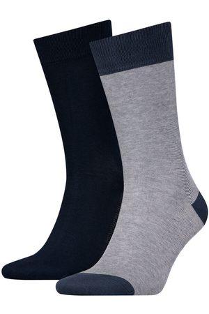 Levi's Pack de meias levi's® altas unissexo com riscas finas Levi's