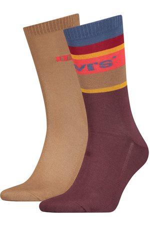 Levi's Pack de meias levi's® altas com riscas colorblock Levi's