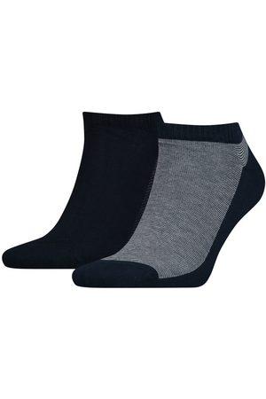 Levi's Homem Meias - Pack de meias levi's® pelo tornozelo unissexo com riscas finas Levi's