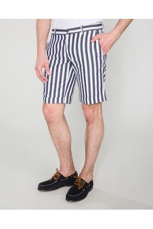 Trussardi Jeans Short pants Blue White