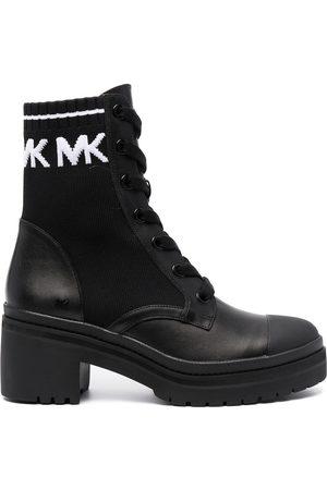 Michael Kors Senhora Botas com Atacadores - Lace-up heeled boots