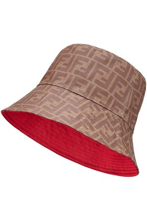 Fendi Reversible FF motif bucket hat