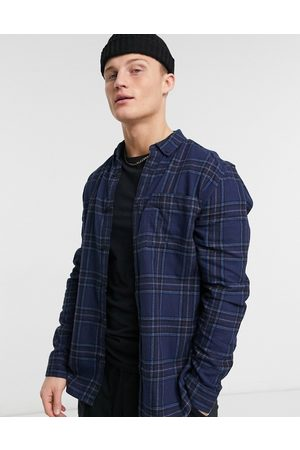 River Island Shirt in blue check
