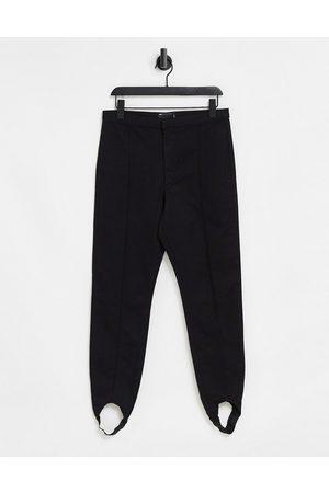 ASOS Skinny stirrup jean in washed black