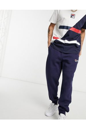 Fila Clooney cuffed joggers in navy