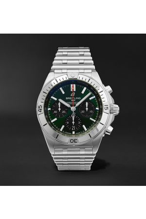 Breitling Homem Relógios - Chronomat B01 Bentley Edition Automatic Chronograph 42mm Stainless Steel Watch, Ref. No. AB01343A1L1A1