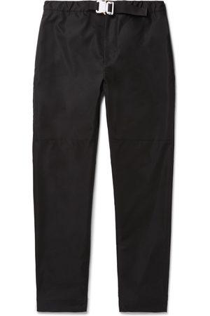 Moncler Genius Homem Calças Justas - 6 Moncler 1017 ALYX 9SM Slim-Fit Belted Woven Trousers