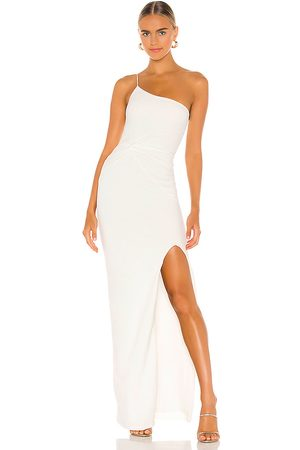 Nookie Lust One Shoulder Gown in - White. Size M (also in XS).