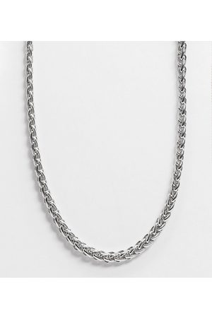 Reclaimed Vintage Inspired chain necklace in silver