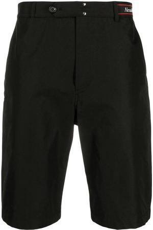 Alexander McQueen Logo waistband shorts