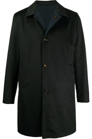 Kired Button-up cashmere coat