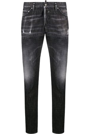 Dsquared2 Whiskered slim jeans
