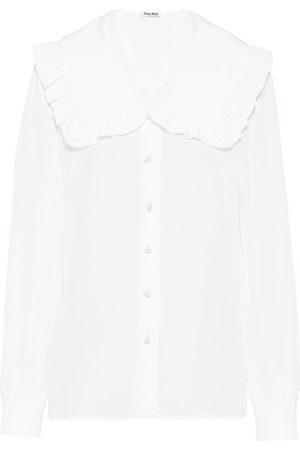 Miu Miu Crepe de chine blouse
