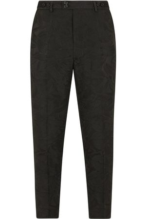 Dolce & Gabbana Floral jacquard tailored trousers