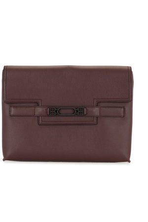 Bally Logo-embellished clutch