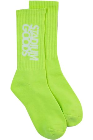 Stadium Goods Intarsia-logo Crew socks