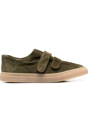MACKINTOSH Touch-strap low-top sneakers