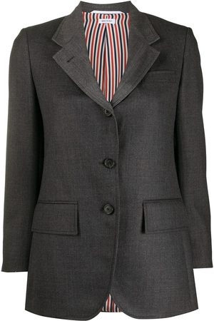 Thom Browne Heavy wool single-breasted jacket