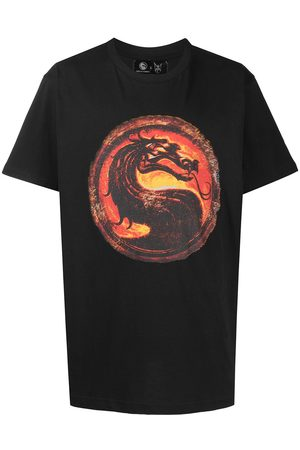 MJB - MARC JACQUES BURTON Homem T-shirts & Manga Curta - Dragon print T-shirt