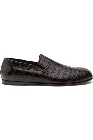 Dolce & Gabbana Crocodile leather loafers
