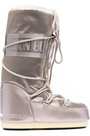 Moon Boot Senhora Botas de Neve - Icon satin snow boots
