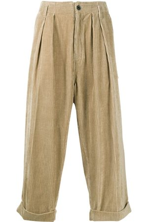 MACKINTOSH Cropped corduroy trousers
