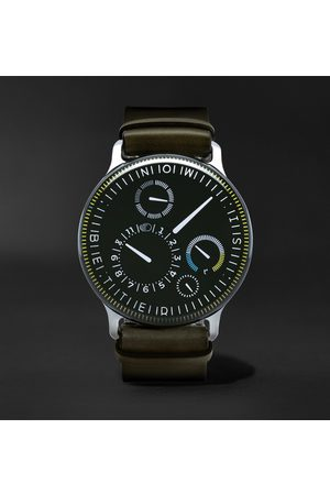 Ressence Type 3X Limited Edition Automatic 44mm Titanium and Leather Watch