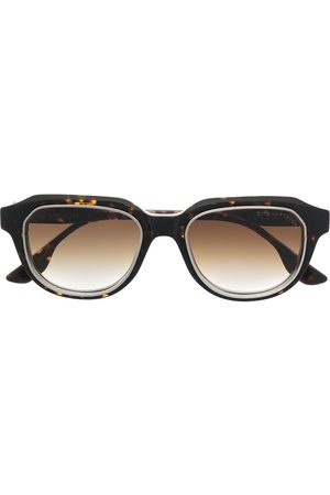 DITA EYEWEAR Gold-rimmed tortoiseshell frames