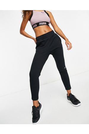 PUMA Training evostripe joggers in black