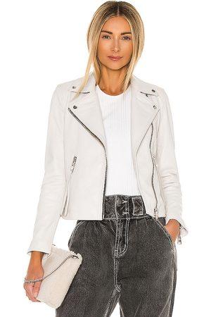 AllSaints Dalby Biker Jacket in - . Size 0 (also in 4, 10, 00, 2, 6, 8).